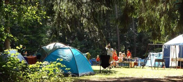 Campingplatz bei Wesenberg