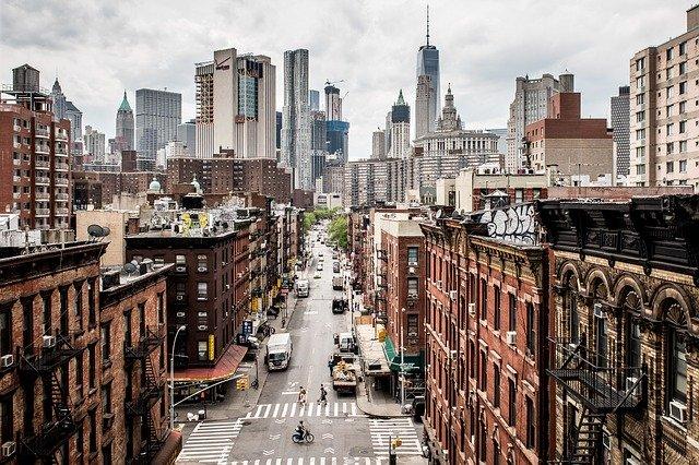 New York - Blick auf Manhatten