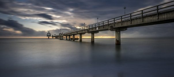 Seebrücke Zinnowitz Ostsee